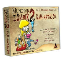 Munchkin Zombik2-Kar hatalom társasjáték