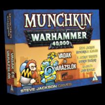 Munchkin Warhammer 40000 - Vadak és varázslók társasjáték