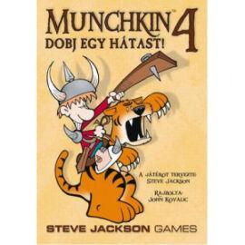 Munchkin4-Dobj egy hátast társasjáték
