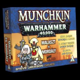 Munchkin Warhammer 40000 - Malaszt és mordály társasjáték