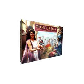 Concordia:Sestertiusszal kikövezett utak társasjáték