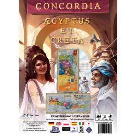 CONCORDIA: AEGYPTUS & CRETA társasjáték  KIEGÉSZÍTŐ