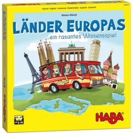 Európa országai társasjáték