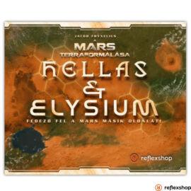 A Mars Terraformálása: Hellas & Elysium társasjáték kiegészítő
