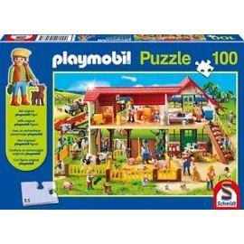 PLAYMOBIL farmház puzzle (100 db) +1 AJÁNDÉK figura