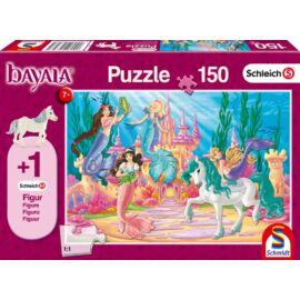 Meamare kastélya puzzle (150 db ) +1 db AJÁNDÉK  Bayala Schleich figura a dobozban