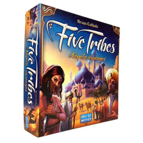 Five Tribes:Naquala  társasjáték