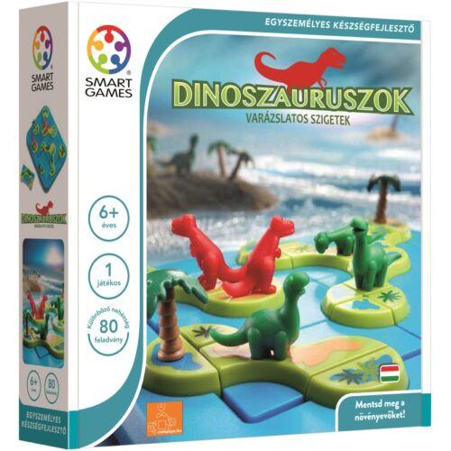 Dinoszauruszok - Varázslatos szigetek logikai játék