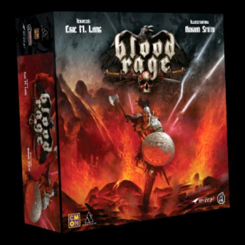 Blood Rage társasjáték (2021-ES KIADÁS)