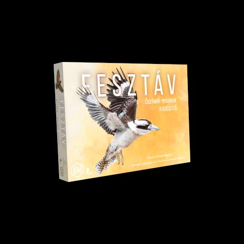 Fesztáv: Óceániai madarak társasjáték kiegészítő