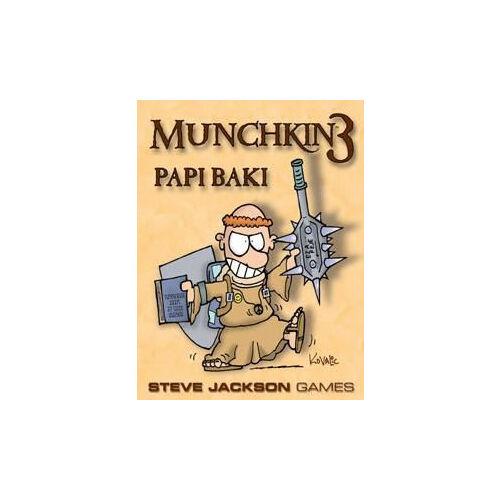 Munchkin3-Papi Baki társasjáték