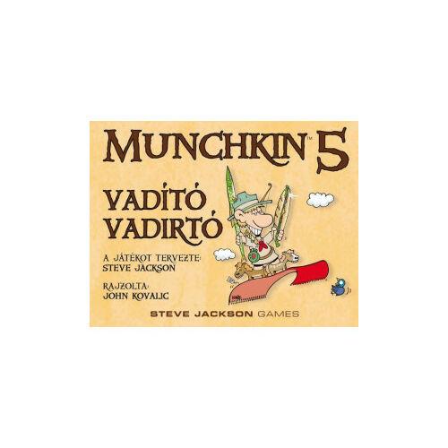 Munchkin5-Vadító vadirtó társasjáték
