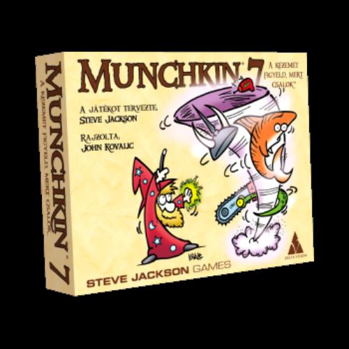 Munchkin 7. - A kezemet figyeld, mert csalok