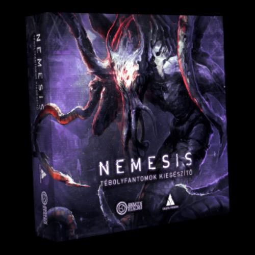 Nemesis - Tébolyfantomok társasjáték kiegészítő