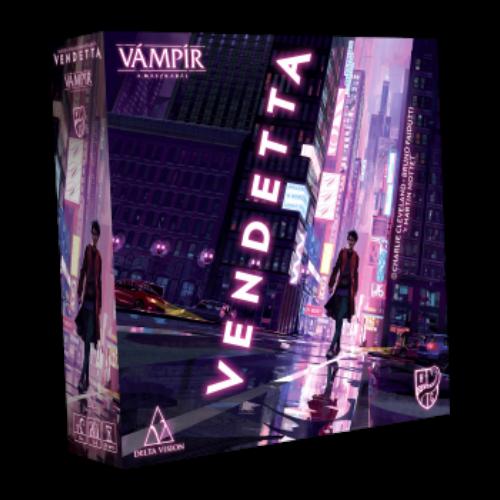 Vendetta - Vámpír a Maszkabál  társasjáték