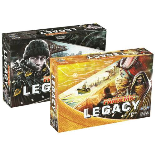 Pandemic Legacy 2. Évad társasjáték