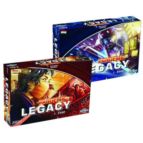 Pandemic Legacy 1. Évad társasjáték