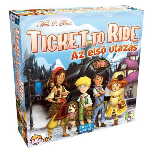 Ticket To Ride-Az első utazás társasjáték