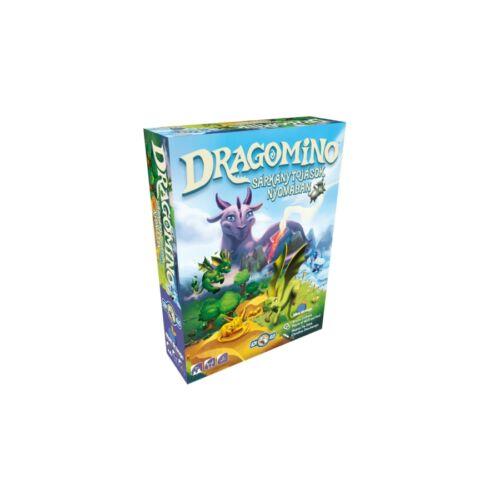 Dragomino: Sárkánytojások nyomában társasjáték