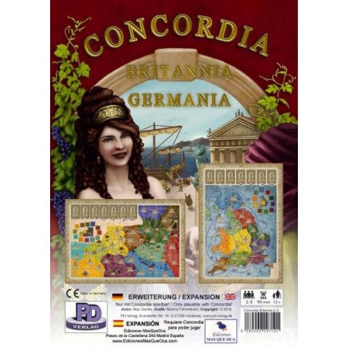 Concordia: Britannia és Germania társasjáték kiegészítő