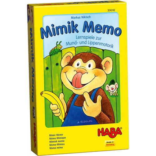Haba-Mimik Memo- fejlesztőjáték arcnak és szájnak