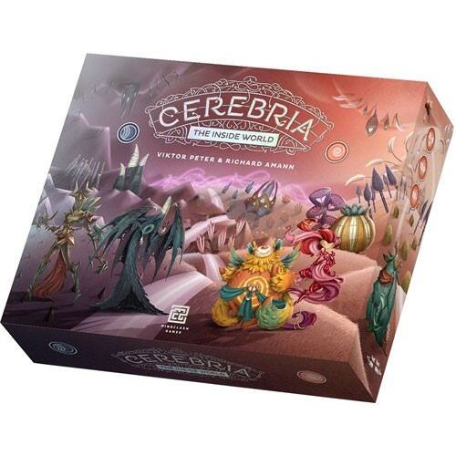 Cerebria: The Inside World társasjáték (ENG)