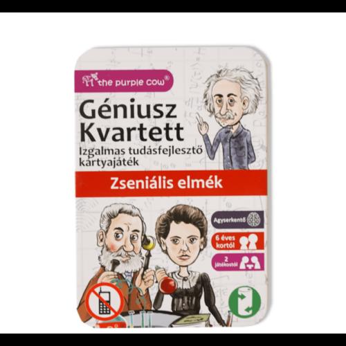 Géniusz Kvartett: Zseniális elmék - ismeretterjesztő kártyajáték