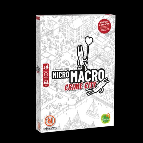 MicroMacro Crime City: Full House társasjáték