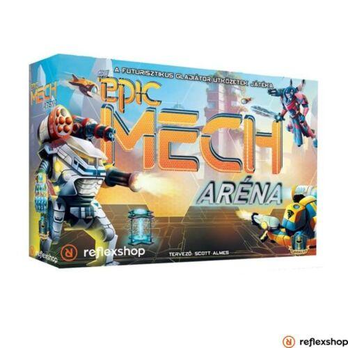 Tiny Epic:Mech aréna társasjáték