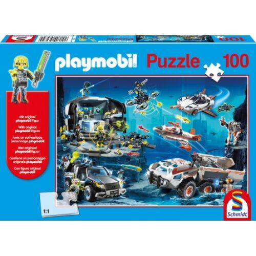 PLAYMOBIL puzzle A legjobb ügynökök (100 db) + AJÁNDÉK FIGURA