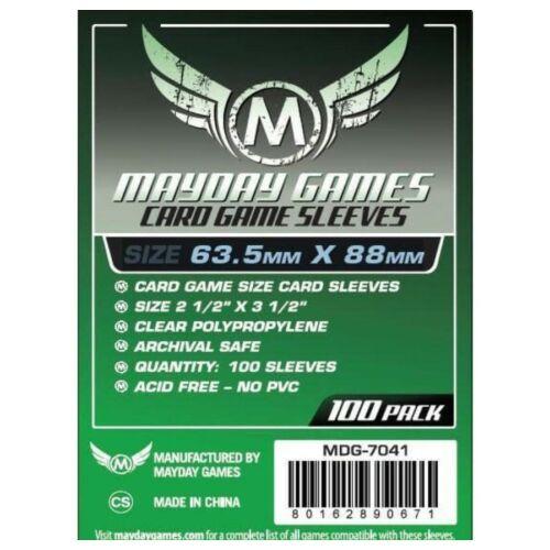 Mayday Games Kártyavédő kártyajátékokhoz 63,5 x 88 mm (100 db-os csomag)