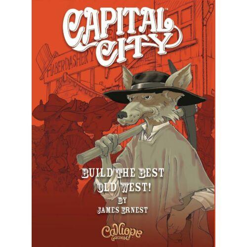 Capital City társasjáték (ENG)