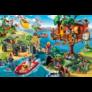 Kép 2/3 - PLAYMOBIL faház puzzle (150 db) +1 AJÁNDÉK figura
