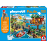 Kép 1/3 - PLAYMOBIL faház puzzle (150 db) +1 AJÁNDÉK figura